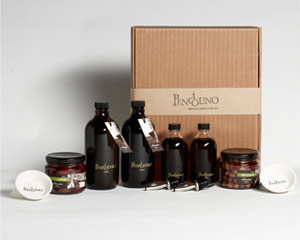 Regalo Grande Olive Oils and Red Wine Vinegar