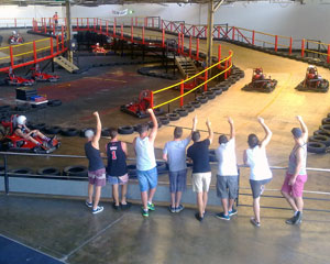 Go Karting, Indoor Power Karts with Gears 30mins - Sydney
