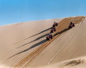 Quad Biking Port Stephens, 1.5hr Sand Dune Adventure