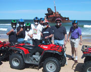 Quad Biking Port Stephens, Stockton Sand Dunes - Shipwreck Tour
