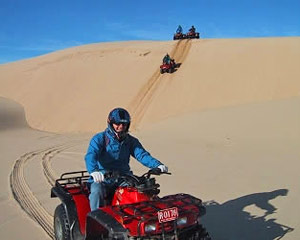 Quad Biking Port Stephens, 2.5hr Stockton Sands Adventure
