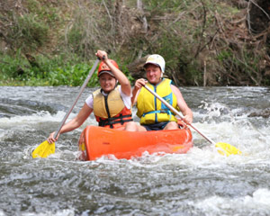 White Water Canoeing, Full Day - Clarence River