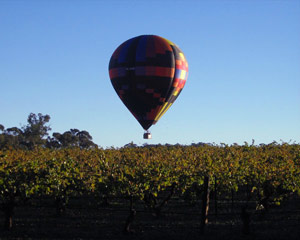 Hot Air Ballooning Barossa Valley Adelaide