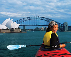 Kayaking Sydney Harbour Bridge Lunch Kayak