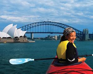 Kayaking Sydney Harbour Bridge Lunch Kayak
