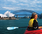 Kayaking - Sydney Harbour Bridge Lunch Kayak