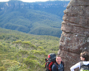Blue Mountains Hiking - Ruined Castle and Scenic Railway