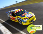 V8 Race Car Drive AND Ride SPECIAL OFFER HALF PRICE HOT LAPS (FRONT SEAT!) - Barbagallo, Perth