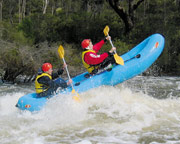 Rafting on the Avon River, Perth