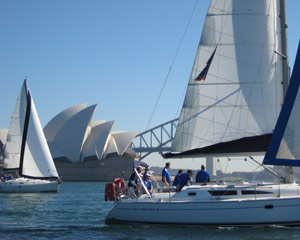 Sunday Afternoon Sailing, Sydney Harbour