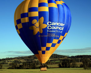 Hot Air Ballooning In A Small Group, Weekend Flight - Hunter Valley (Flight Only)