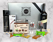 Riedel O Series Glasses and Wine Hamper