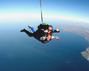 Skydiving Over The Beach St Kilda