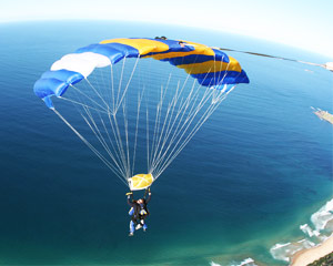 Skydiving Over The Beach St Kilda, Melbourne - Weekend Tandem Skydive 14,000ft