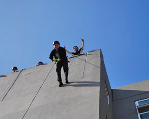 Abseiling Forward Run For 2 - Melbourne