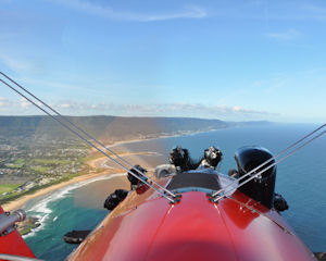 Scenic Bi-plane Joy Flight 45 Minute - Wollongong, NSW
