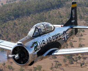 T28 Trojan Adventure Flight, 20 Minute - Brisbane
