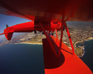 Aerobatic Stunt Flight, Bi-plane 30 Minute Stunt Flight - Wollongong, NSW