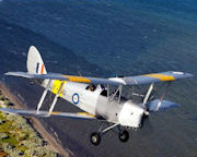 Tiger Moth, Scenic Joy Flight, 45 minute - Point Cook, Melbourne