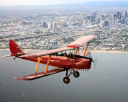 Tiger Moth, Scenic Joy Flight, 1 Hour - Point Cook, Melbourne