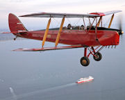 Tiger Moth, Scenic Joy Flight, 2 Hour - Melbourne