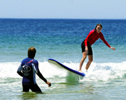 Surfing, 1.5hr Private Lesson - Newcastle