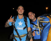 Skydiving Over The Beach Wollongong - NIGHT SKYDIVE!