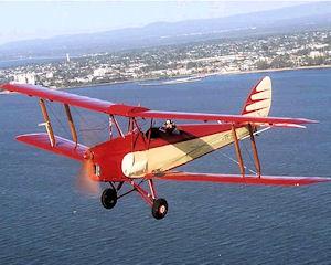 Tiger Moth, 30 Minute Scenic and Aerobatic Flight - Brisbane