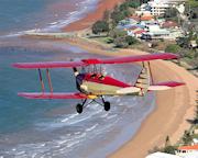 Tiger Moth, 45 Minute Scenic and Aerobatic Flight - Brisbane