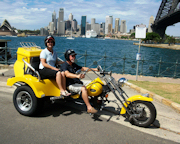 Trike Tour, 45 Minute, Harbour Bridge Tour for 2 - Sydney