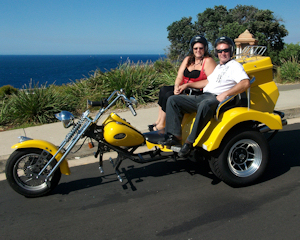 Trike Tour, 1.5 Hour, Eastern Panorama Tour - Sydney