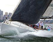 America's Cup Yacht Racing  - Sydney Harbour