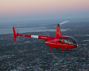 Helicopter Fremantle Flyer Private Scenic Flight For 2 15 Minutes  Perth