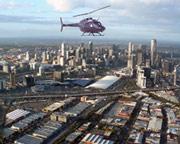 Luxury Jet Ranger Helicopter Flight, 20 Min Melbourne CBD Orbit