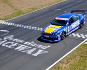V8 Race Car 3 Lap Ride, Queensland Raceway