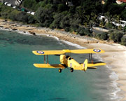 Tiger Moth Adventure Flight, 30 minutes - Byron Bay