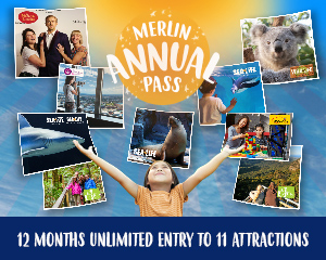 Australian Attractions Unlimited Annual Pass (Merlin Annual Pass)