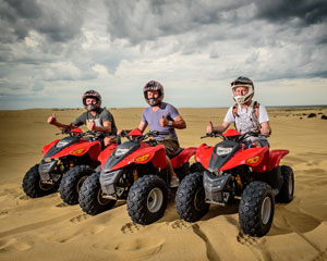 Quad Biking Port Stephens, Stockton Sand Dunes, Sandpit Adventure