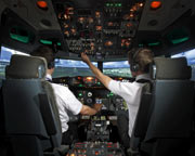 Boeing 737 Flight Simulator Melbourne CBD - 45 Minute City Circuits