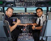 Boeing 737 Flight Simulator Melbourne CBD - 60 Minute City Flyer