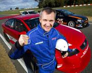 V8 Race Car 8 Lap Drive, 2 Lap Ride Combo - Perth