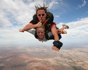 Skydiving Bendigo Melbourne - Weekend Tandem Skydive 15,000ft