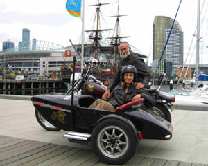Harley & Sidecar 1 Hour Joy Ride for 2 People - Melbourne