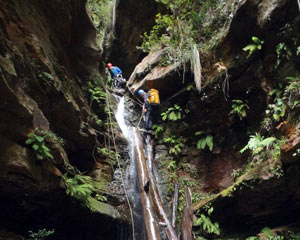 Canyoning, Juggler Canyon - Blue Mountains