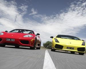 You Drive a Ferrari and a Lamborghini, 1 Hour - Scoresby, Melbourne