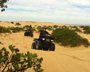 Quad Biking Port Stephens, Stockton Sand Dunes - Helicopter and Quad Bike Tour