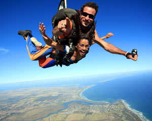 Skydiving Great Ocean Road (Barwon Heads) - Tandem Skydive Up To 15,000ft WEEKDAY SPECIAL