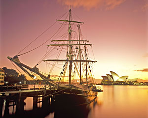 Sailing, Tall Ship Twilight Dinner and Drinks Package Cruise - Sydney