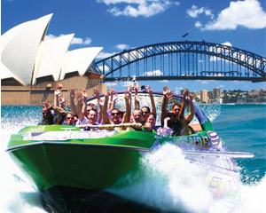 Jet Boat Circular Quay 30 Mins Offer