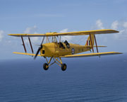 Tiger Moth Adventure Flight, 15 minutes - Byron Bay